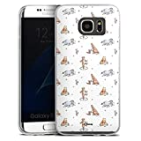 DeinDesign Coque Slim Compatible avec Samsung Galaxy S7 Edge Coque Ultra Fine Coque en Silicone...