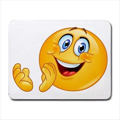 Applaud Emoticon Mousepad (Alfombrilla Antideslizante de Neopreno)