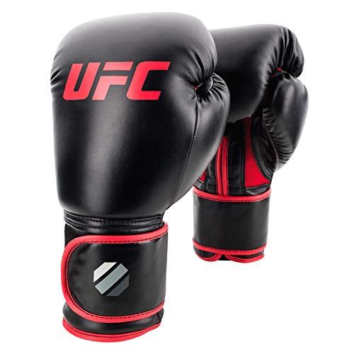 UFC – Guantes de Entrenamiento para Muay Thai, Negro, 396 gr (14 onzas)