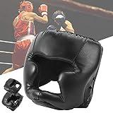 Keenso Casco de protección para la Cabeza de Boxeo, protección para mejillas y oídos, Adultos/niños, Sanda/Muay/Thai/Kickboxing/Karate/Taekwondo, Equipo de protección de Lucha(Adult)