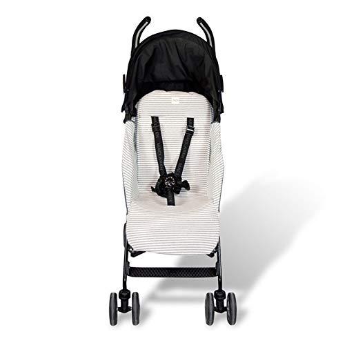 Fundas BCN ® - F95/0393 - Colchoneta para silla de paseo Maclaren Quest ® 2013-17 - Kodak Stripes