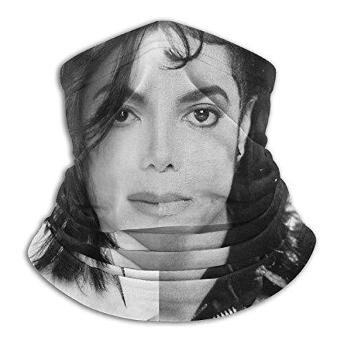 Shadidi M-Ichael J-Ackson Nahtlose Gesichtsmaske, Bandana, Halstuch, kühl und leicht, Sonnenschutz