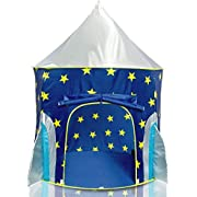 Unicorn Tent for Girls Unicorn Pop Up Kids Tent w/ Unicorn Headband and Case, Unicorn Toys for Girls Indoor Princess Castle Kids Play Tent (Pink)