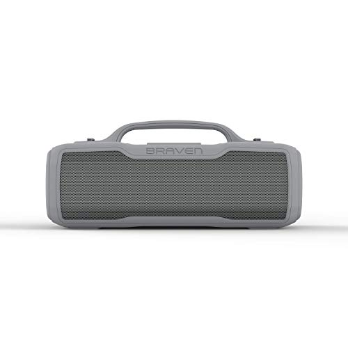 Braven BRV-XL - Waterproof Speaker with 16 Hours of Playtime - Rugged - Grey