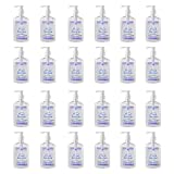Hand Sanitizer Gel Pump   Bulk Hand Sanitizer Pack of 24   Travel Size Hand Sanitizer (8 oz size per bottle)   Moisturizing Hand Sanitizer