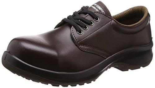 [ミドリ安全] 安全靴 JIS規格 耐滑 耐油 耐薬 短靴 プレミアムコンフォート PRM210NT メンズ ダークブラウン 26.5 cm 3E