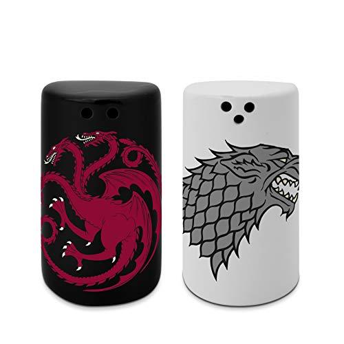ABYstyle - Game of Thrones - Salz und Pfefferstreuer - Stark & Targaryen