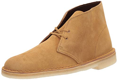 Clarks Men's Desert Chukka Boot, Oak Suede, 11.5 M US