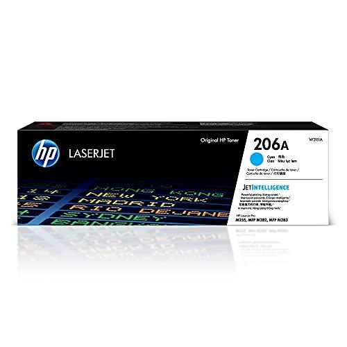 HP 206A | W2111A | Toner-Cartridge | Cyan