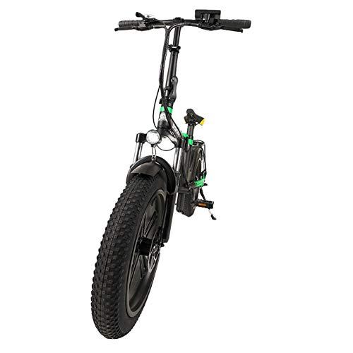 Bicicleta Eléctrica De Montaña Bicicleta Eléctrica De 16 Pulgadas Plegable con Batería...