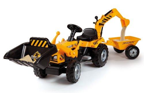 Smoby 7600033389 Trattore Max, Colore Arancio