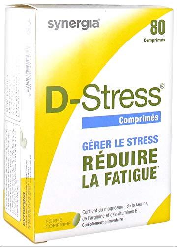 D-Stress ➠ Magnesio altamente asimilado, taurina, arginina y vitaminas B (B6, B5, B3 y B2) ➠ Origen Francia