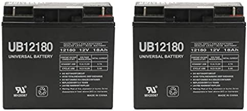 Universal Power Group 12V 18AH Go-Go Travel Mobility Elite Traveller Plus SC53HD, SC54HD Battery - 2 Pack