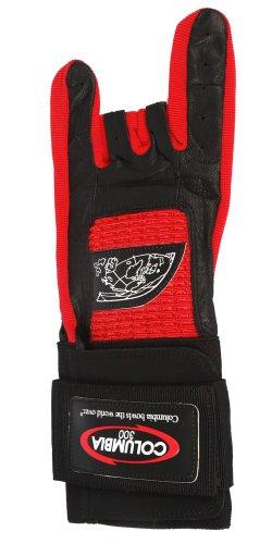 Columbia 300Pro linken Handgelenk Bowling Handschuh, Herren, Pro Left Wrist, rot