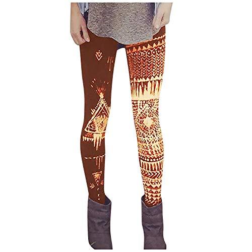Deporte Mujer Leggins Fitness Push up Running Yoga Pantalón Medias Deportivas 3D Impresión Pantalones Rectos de Elástico Polainas para Pilates Ejercicio Pantalones de bota pantalones casuales