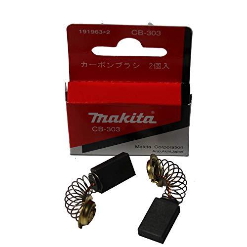 Makita 191963-2 Escobillas de carbón CB-303