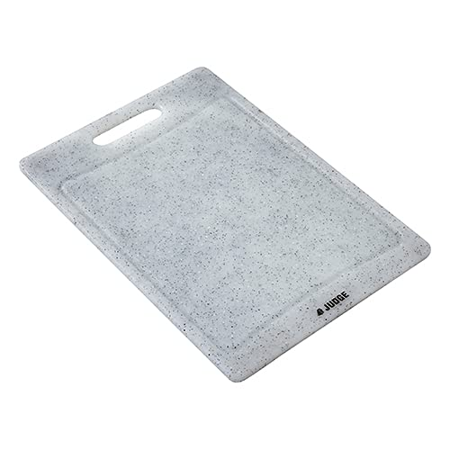 Judge Kitchen Granite Effect Cutting Board TC395 Dishwasher Safe Plastic Kitchen Chopping Board with Handle and Juice Groove Large 29cm x 20cm