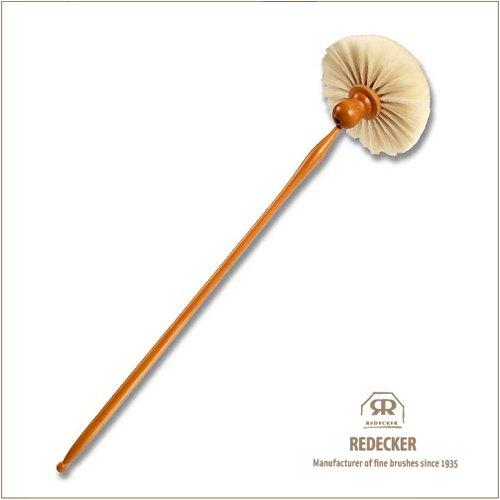 Redecker レデッカー アンティークでお洒落なはたき (山羊毛) (80cm, 白)