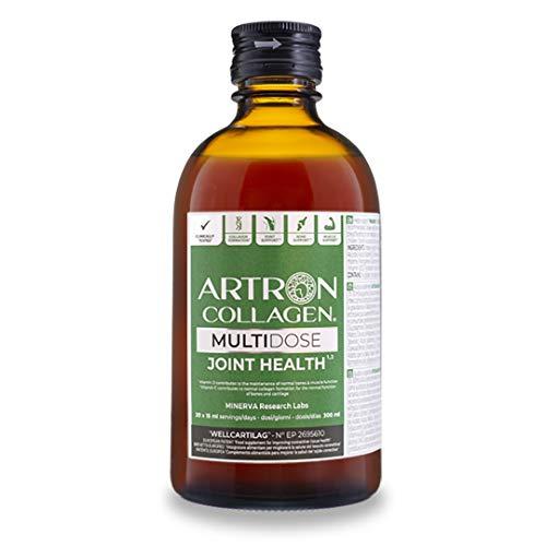 Artron Collagen | L'integratore liquido N° 1 per la cura e la salute delle articolazioni| Collagene idrolizzato, glucosamina, condroitina, vitamine, MSM ed altri principi attivi