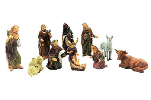 Krippenfiguren Set 11 Teilig Bis 7 cm
