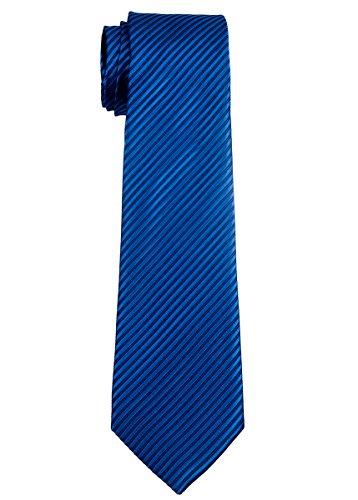 Retreez - Corbata tejida para chicos (8-10 años) azul cobalto 8-10 años