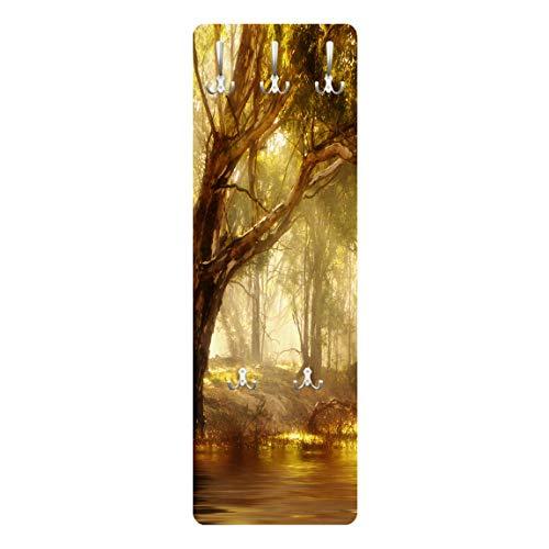 Bilderwelten Garderobe Flurgarderobe Dreamland Beige 139 x 46 cm