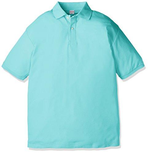 (ユナイテッドアスレ)UnitedAthle 5.3オンス ドライカノコ ユーティリティー ポロシャツ 505001 [メンズ] 024 ミントグリーン XL