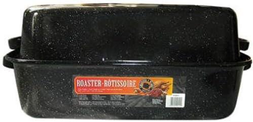 Granite Ware Covered Rectangular Roaster