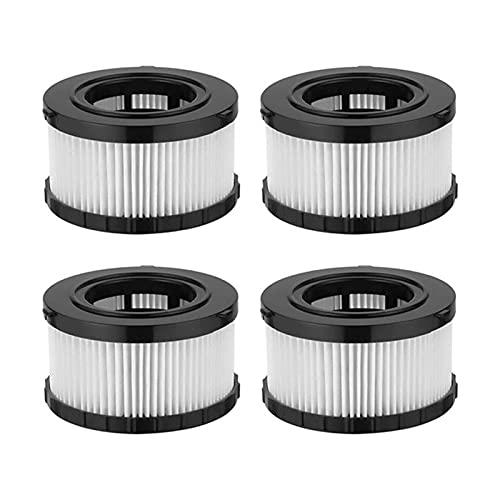 WANGYA Filtro de aspiradora Filtro de Aire de Alta eficiencia para DEWALT DC5151H DC515 Accesorios de reemplazo de aspiradora Seca húmeda filtros de aspiradoras (Color : 4PCS)