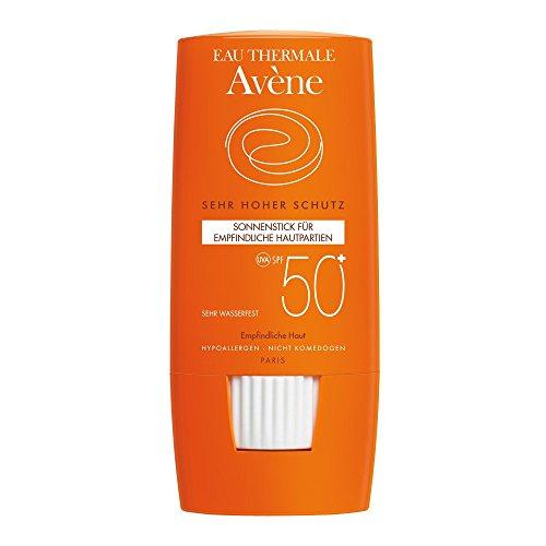 Avène Sonnenstick für empfindliche Hautpartien SPF 50+, 8 g Salbe