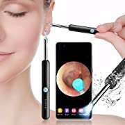 Earwax Removal Tool with Camera,Earwax Cleaner Tools with 1080P FHD Wireless Ear Otoscope,Earwax Cleaner Pick Kit for Android,iPhone & iPad
