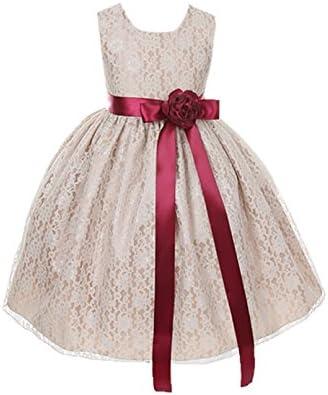 Cinderella flower girl dress _image3