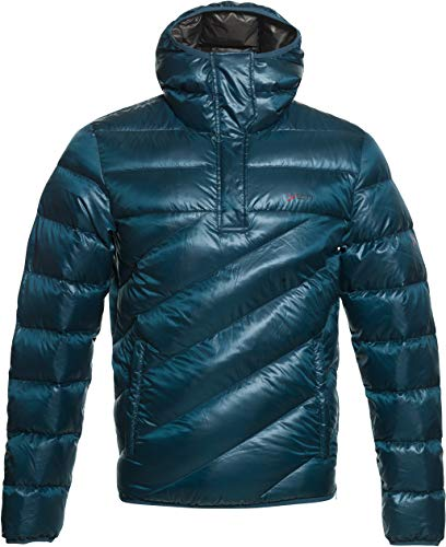 YETI Fjelldal M's Hooded Down Anorak - Daunen Anorak Herren, Arctic Night, blau, s