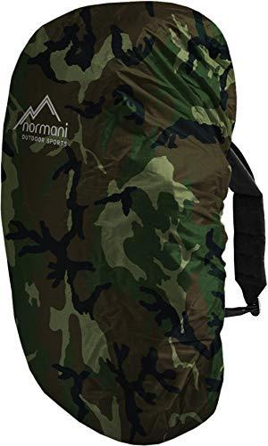 wasserdichter Regenueberzug Raincover Regenhülle für Backpacks Rucksack Farbe Woodland Größe 40-50 Liter