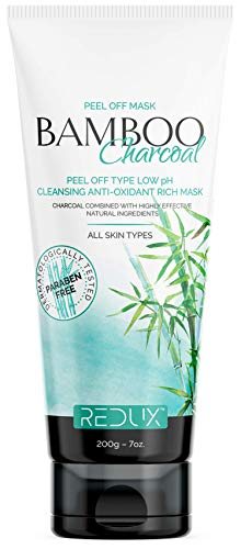 Captain Thug Redux Bamboo Charcoal Peel Off Mask - All Skin Types - 7oz - Cleansing Rich Mask