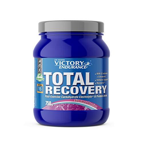 Victory Endurance Total Recovery Summer Berries. Maximiza la recuperación después del entrenamiento. Enriquecido con electrolitos y vitaminas. Sabor Summer Berries (750 g)