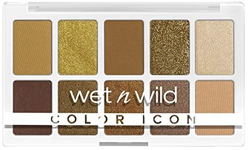 wet n wild, Color Icon 10-Pan Palette, Palette di Ombretti, 10 Colori Riccamente Pigmentati per il Trucco di Tutti i Giorni, Formula a Lunga Durata e Facile da Sfumare, Call Me Sunshine