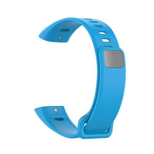 Correa de silicona de repuesto para Huawei Band 2/Band 2 Pro Smart Watch, conector especialmente diseñado, fácil de instalar y quitar