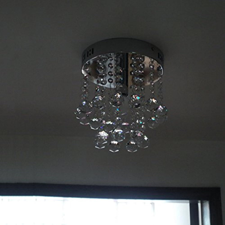 Wohltat Decke Gang-Korridor Einfache moderne romantische LED-Design Luxus K9 Kristall Decke (Farbe   Diameter 20cm)