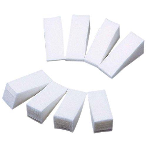 Lot de 8 éponges douces pour nail art 2,5 cm x 5 cm x 2 cm