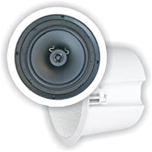 """OSD Audio 6.5"""" Ceiling Speaker 70V – ICE620ST with Back Can, Single"""