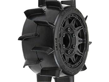 Pro-line Racing Sand Paw LP 2.8  Mounted Raid Black 6 x 30 Tires F/R  2  PRO1016010