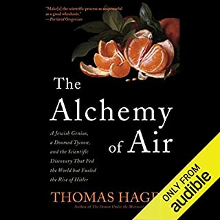 The Alchemy of Air audiobook cover art