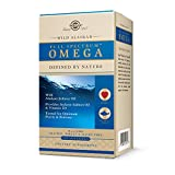 Solgar Wild Alaskan Full Spectrum Omega, 120 Softgels - Supports Heart, Brain, Bone and Skin Health - Provides Vitamin D3 - Rich Source of EPA & DHA - Non GMO, Gluten Free, Dairy Free - 60 Servings