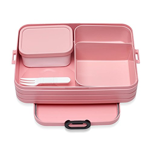 Mepal Nordic Pink bento-Lunchbox-take-a-Break-Large, TPE/pp/abs, 0 mm