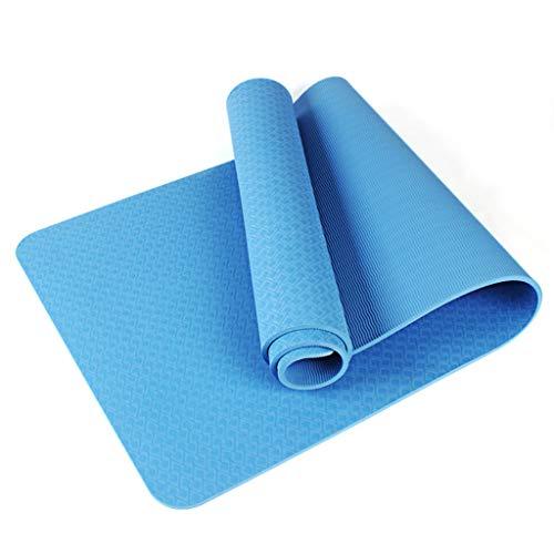 LDD Yoga Mat, ampliato e Ispessito TPE Protezione Ambientale Antiscivolo Mat Sport Fitness, Pilates e Ginnastica Mat Fitness 183 X 61 X 0.8CM