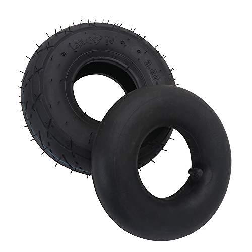 USTPO Neumático de Motocicleta y Tubo Interior 3.00-4 para neumáticos de Scooter...