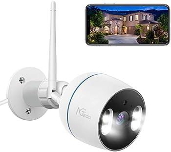 NGTeco 1080P FHD 2.4G WiFi Cameras for Home Security