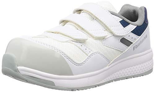 [ミドリ安全] 安全作業靴 JSAA認定 高反発 プロスニーカー QL15 静電 ホワイト 28.0 cm 3E