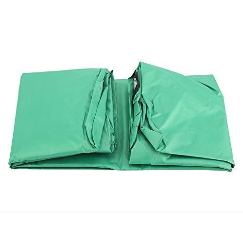 Dondoli Coperti Altalena per Esterni Impermeabile Prova Pioggia Durevole Anti Polvere Sedile Altalena Copertina Superiore Coperchio Protettivo per Veranda Patio Giardino Piscina Sede (Green)